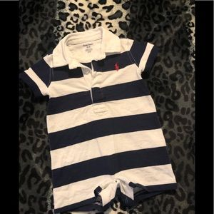 Polo by Ralph Lauren Striped Shortalls